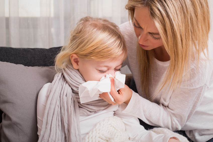 Sneezes, Sniffles and Snorts…Oh My! How to Keep the Kids Healthy Naturally