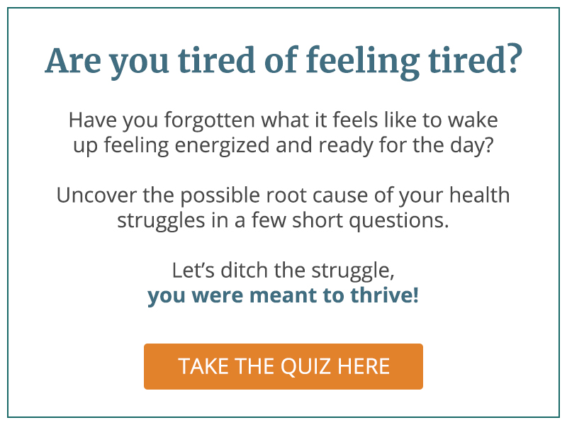 Are you tired of being tired?